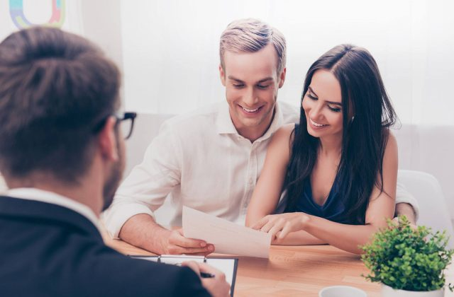 couple with finance approval