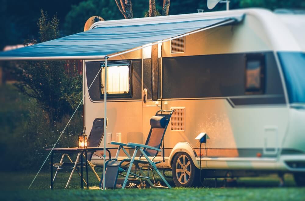 buying camping vans vs caravans