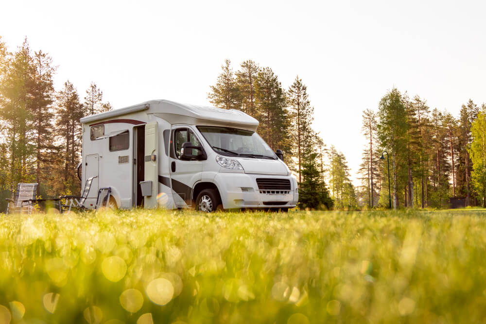Caravan camping perfection